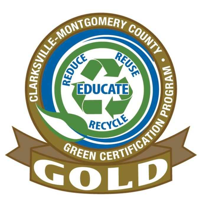 Clarksville Montgomery County Green Certification Program Gold