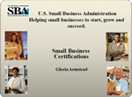 Small Business Certifications (PDF)