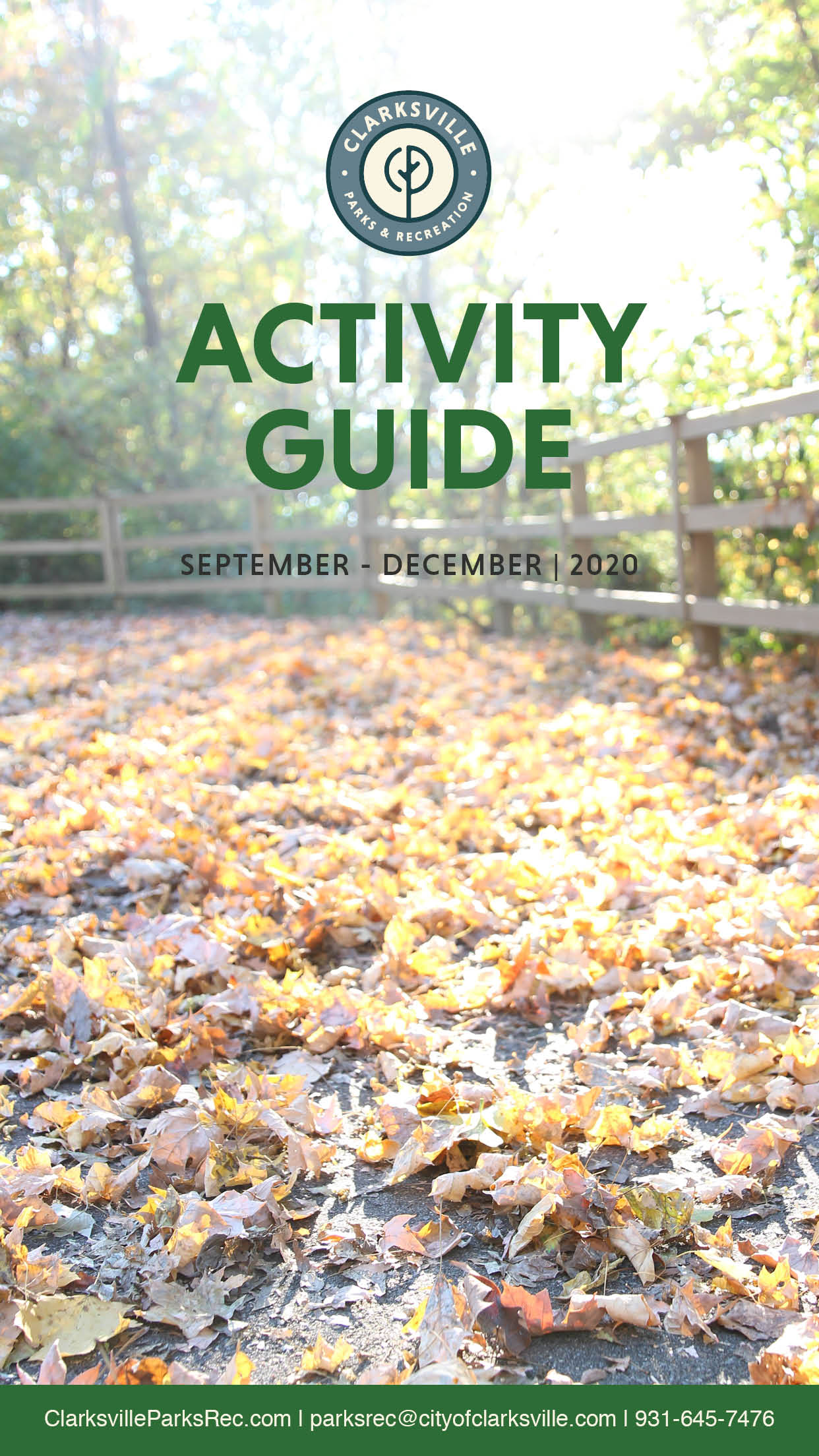 Activity Guide cover