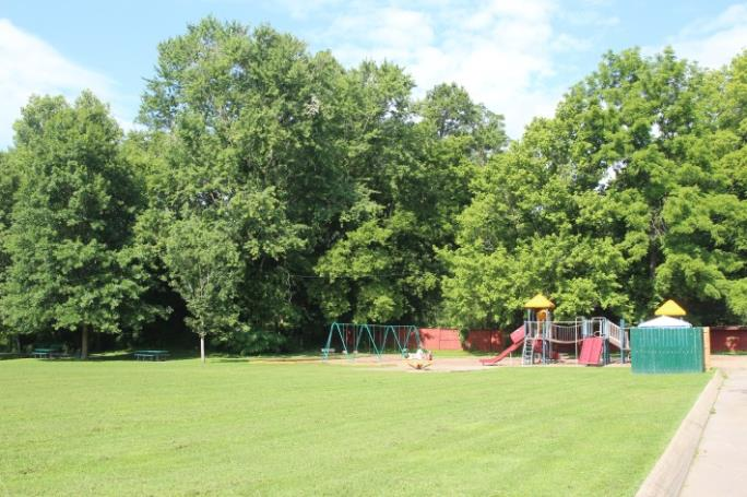 Field and Playground at Coy Lacy Park