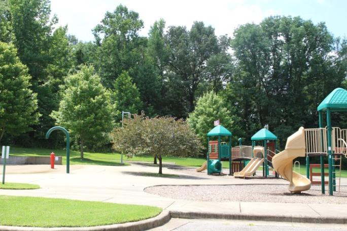 Playground at Lettie Kendall Park