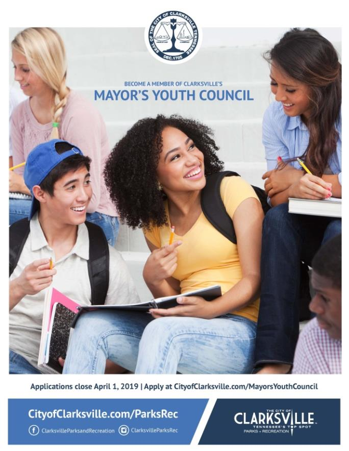 Mayors Youth Council Flyer